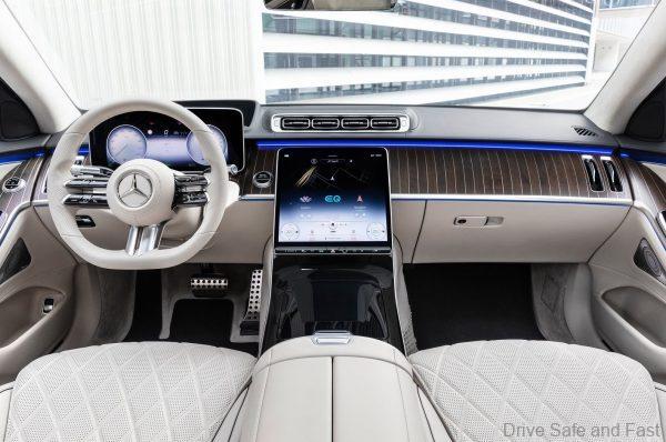 Mercedes-Benz S-Class 2021_cockpit
