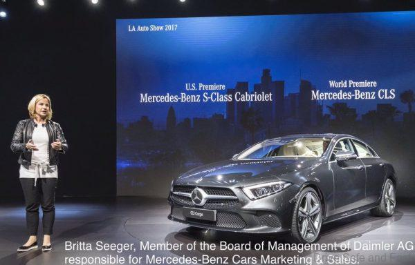 Britta Seeger, Member of the Boards of Management of Daimler AG