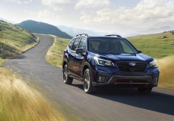 Subaru Forester Sport 2021 driving