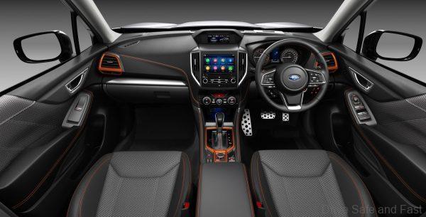 Subaru Forester Sport 2021 Cabin