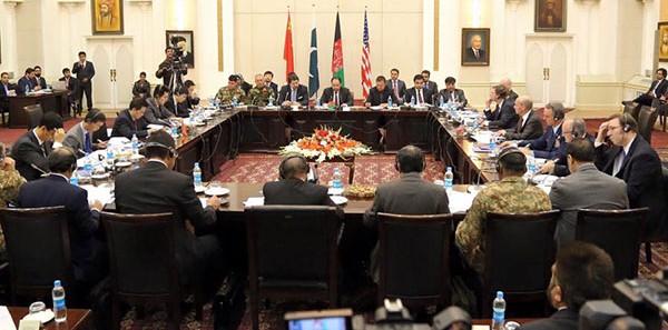 چهارمین دور نشست چهارجانبه افغانستان، پاکستان، امریکا و چین