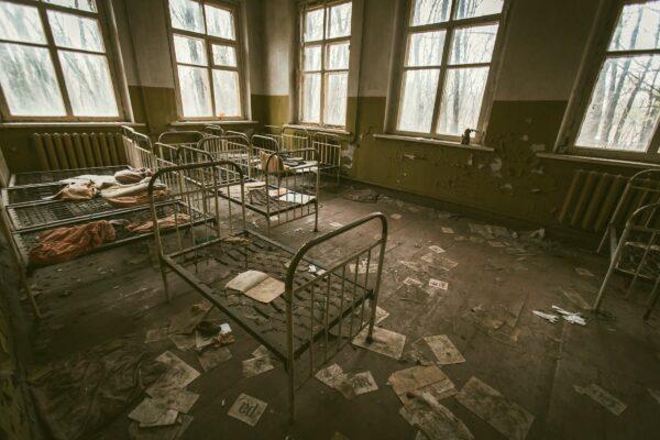 chornobyl, ukraine, desolate