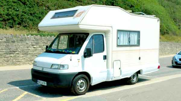 European RV Camper Van