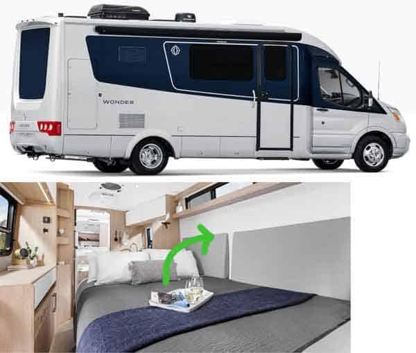 Wonder campervan with Murphy bed