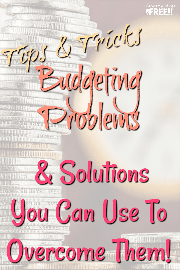 We all need some sort of budget to get ahead, but, that comes with budget challenges, as well.  This post covers some budget problems and solutions you can put in place to help you know how to solve budgeting problems.  These are good tips on budgeting for beginners, but, even an expert can employ these budgeting tips.