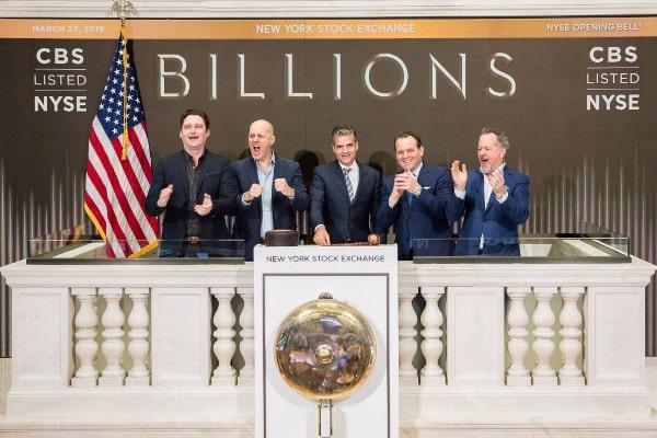 Campana de apertura de la Bolsa de Nueva York. Marca el horario de Wall Street.