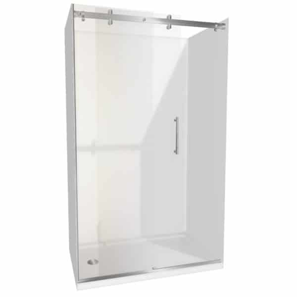 1400 x 900 Urban Dreamline alcove Shower Henry Brooks lh