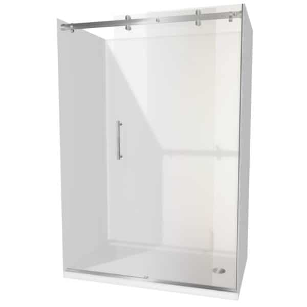 1400 x 900 Urban Dreamline alcove Shower Henry Brooks rh