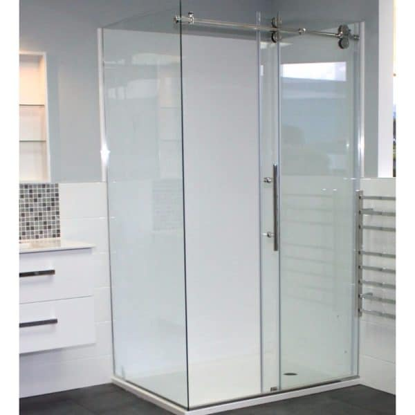 Urban Dreamline shower 1200 x 900 install