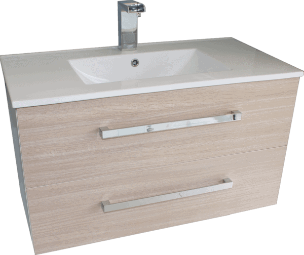 Wall Hung Vanity Strata Duo 900mm wide