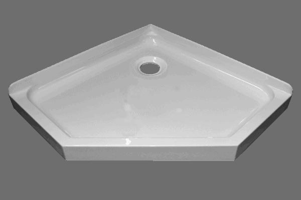 Pentagon 45 Deg Shower trays