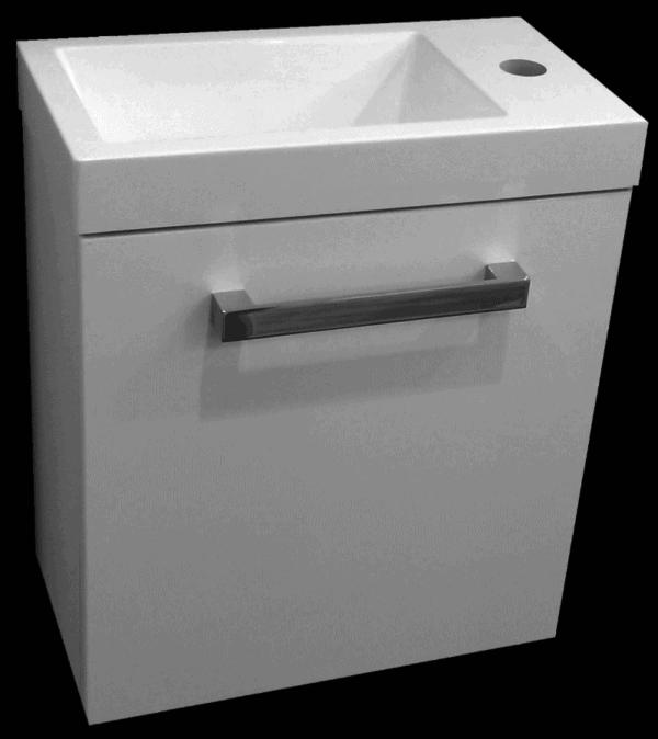 Wall Hung toilet vanity Strata 400 x 220mm