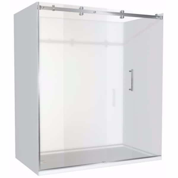 1800 x 900 shower 3 walled Alcove Henry Brooks LH waste
