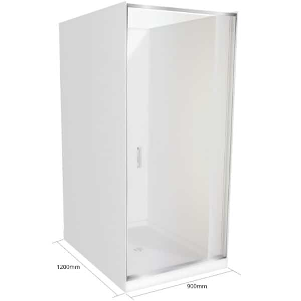 1200 x 900 x1200 Alcove shower-Henry Brooks