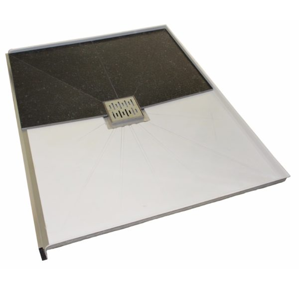 1200 tileable shower tray alcove-Henry Brooks