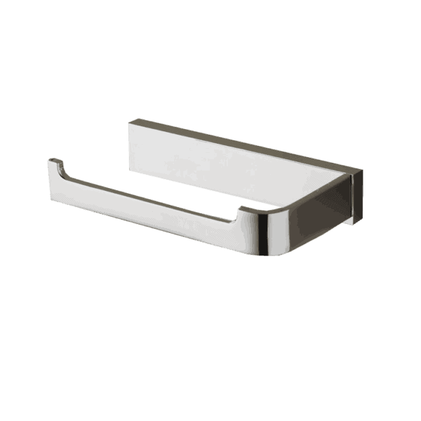 Toilet Roll Holder Bronte Chrome Range Bathroom Accessories LH