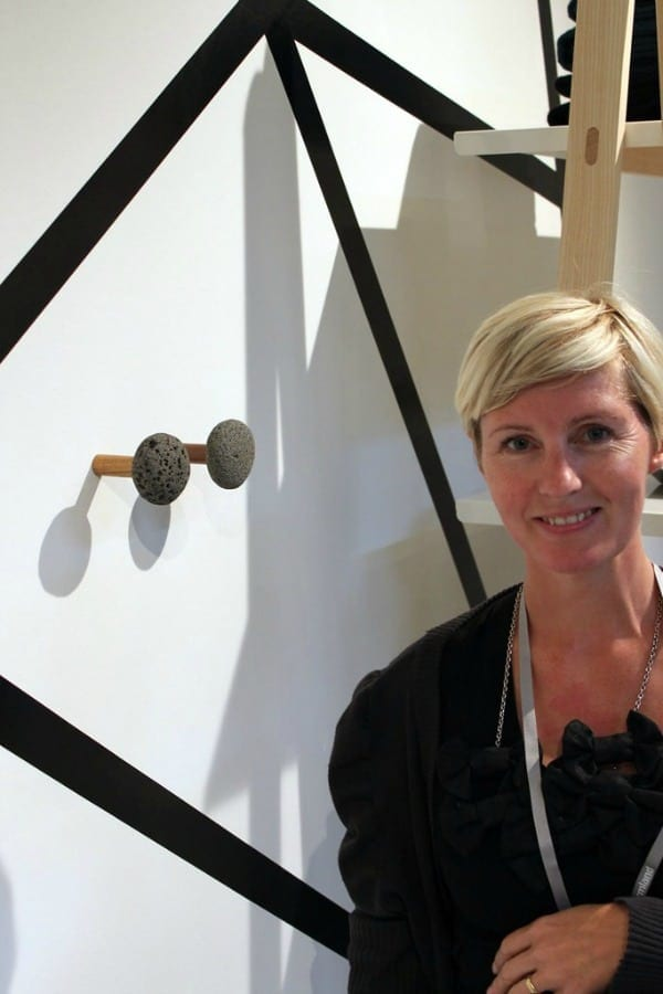 stone hooks designed by Helga I. Sigurbjarnadottir