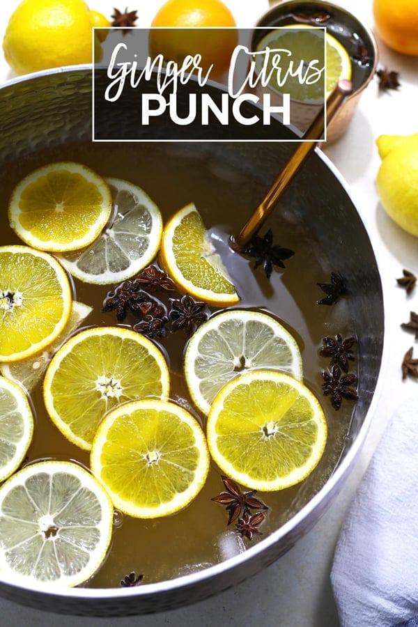 ginger citrus punch pinterest image