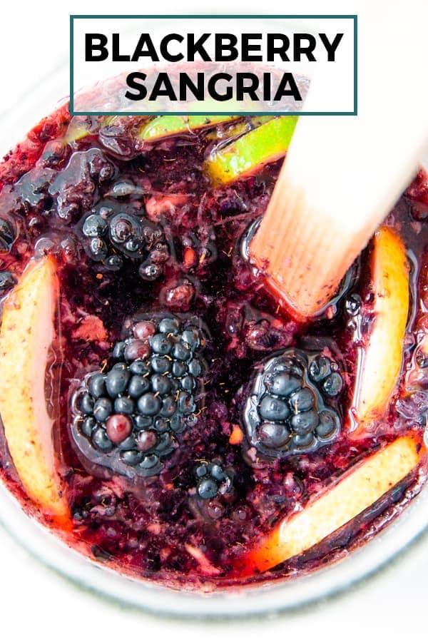 blackberry sangria pinterest image