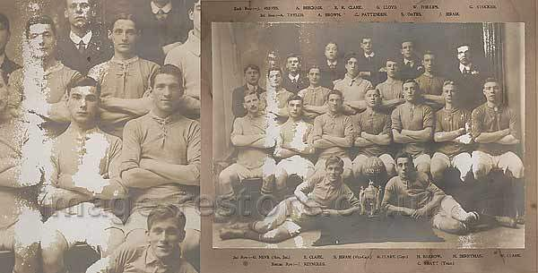 Balliol Invicta Football Club 1910-1911