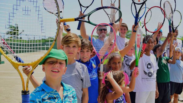 8 Group Tennis Lessons for Kids 7 - 9 years old