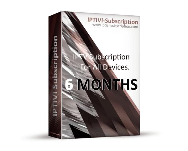 IPTV Subscription - IPTIVI Subscription - 6 Months - IPTV PACK