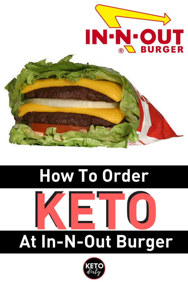Keto In N Out Picture of Protein Style Double Double In N Out Burger
