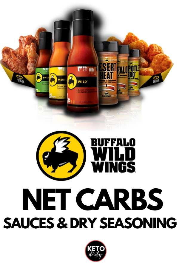buffalo wild wings carbs