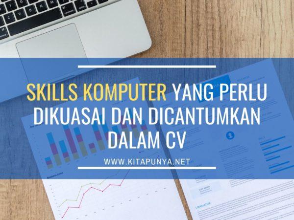 skills komputer dalam cv