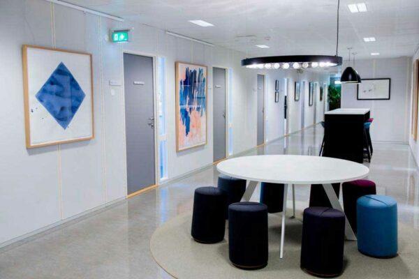 Utsmykning Det teknisk-naturvitenskapelige fakultet Universitetet i Stavanger Margrethe Aanestad