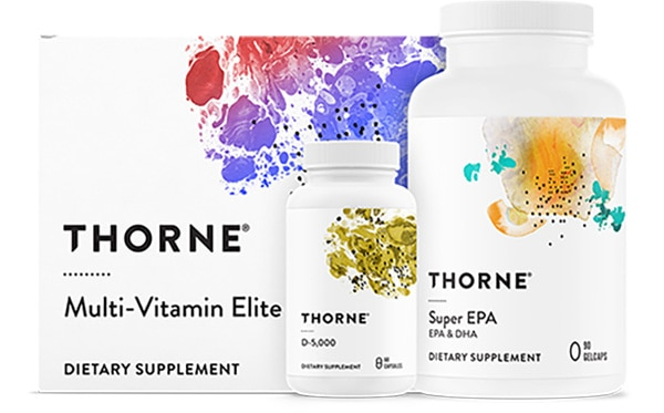 THORNE Pharmaceutical-Grade Nutritional Supplements
