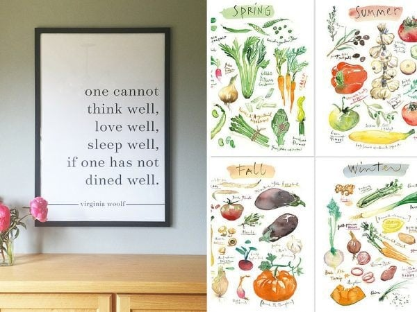 20 Gorgeous Kitchen Art Ideas You Ll Love Love Renovations