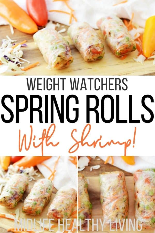 Pin for WW spring rolls with shrimp