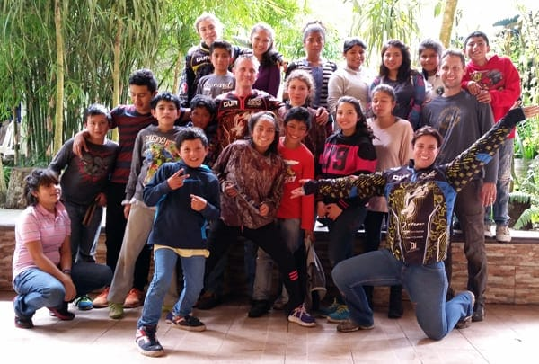 Caring for orphans in Guatemala