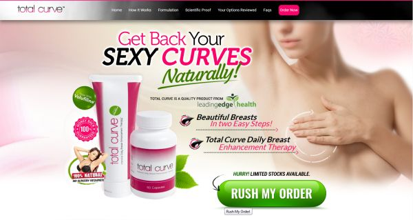website van totalcurve
