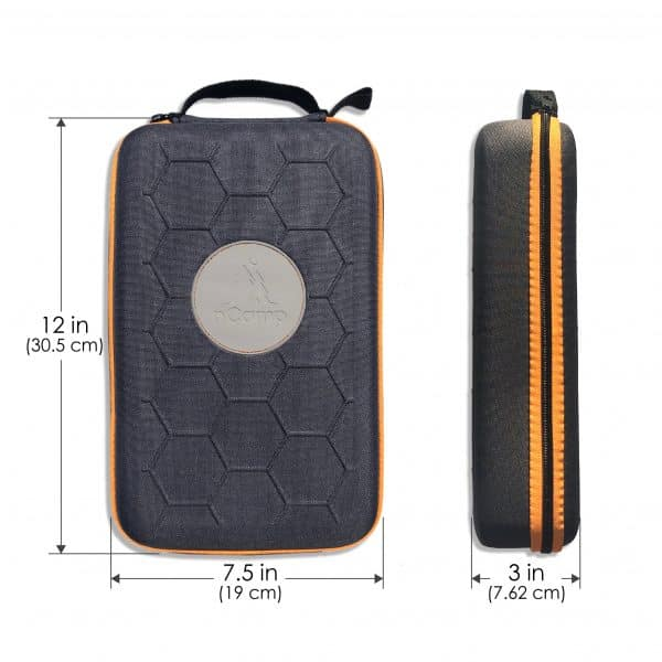 measurements of carry case