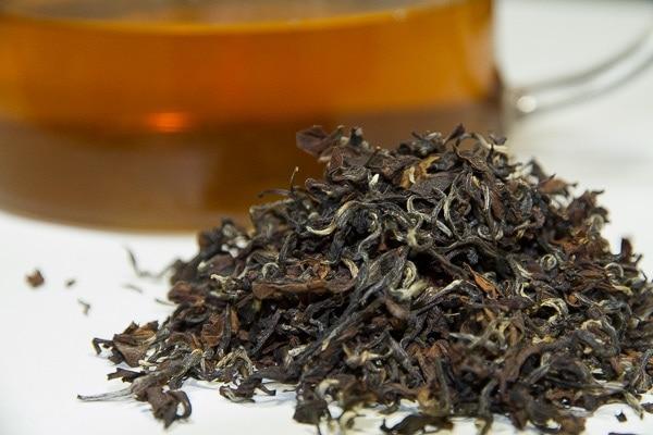 Oriental Beauty tea, a variety of Taiwan oolong tea