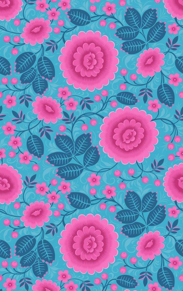 Velina Tropical Interior Wallpaper For Walls