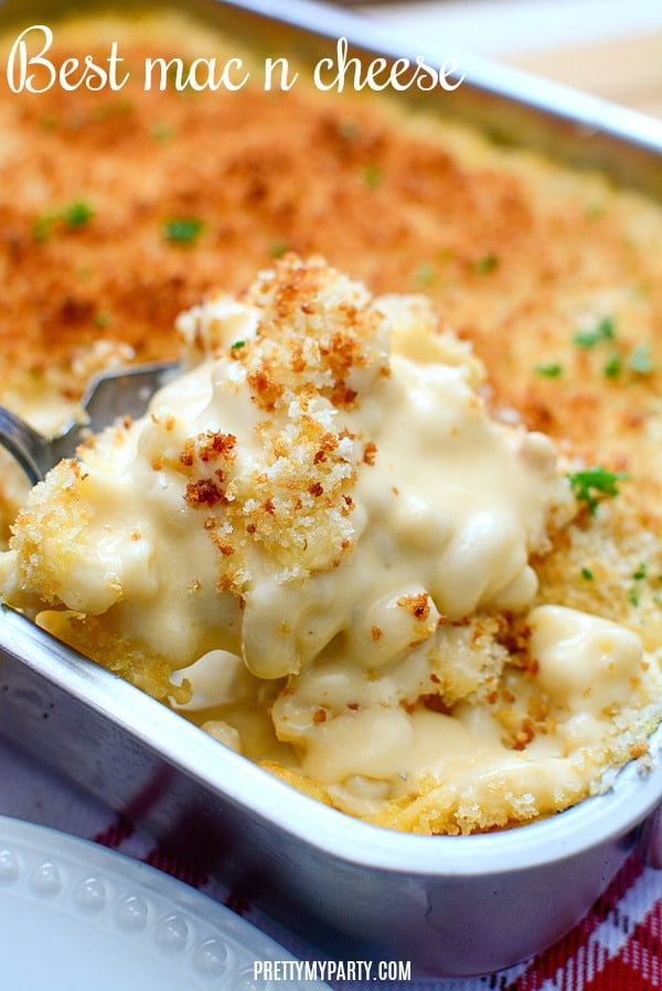 The Best Homemade Baked Mac and Cheese Recipe on Pretty My Party