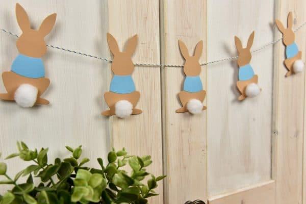 DIY Peter Rabbit Garland - Peter Rabbit Party Ideas