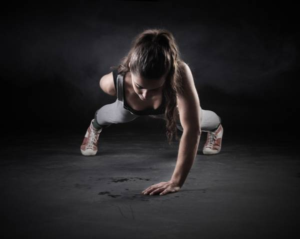 At-Home Workouts - pushups