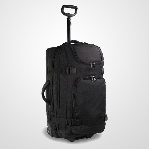 Rolling-Duffel-Travel-trolley-Luggage-bag-With