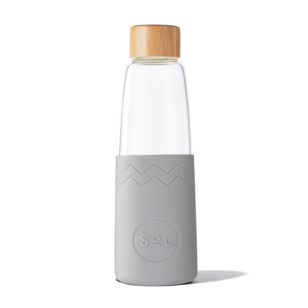 Glastrinkflasche SoL Bottle 850ml - Cool Grey
