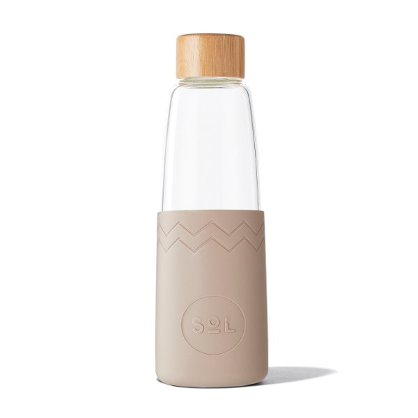 Glastrinkflasche SoL Bottle 850ml - Seaside Slate