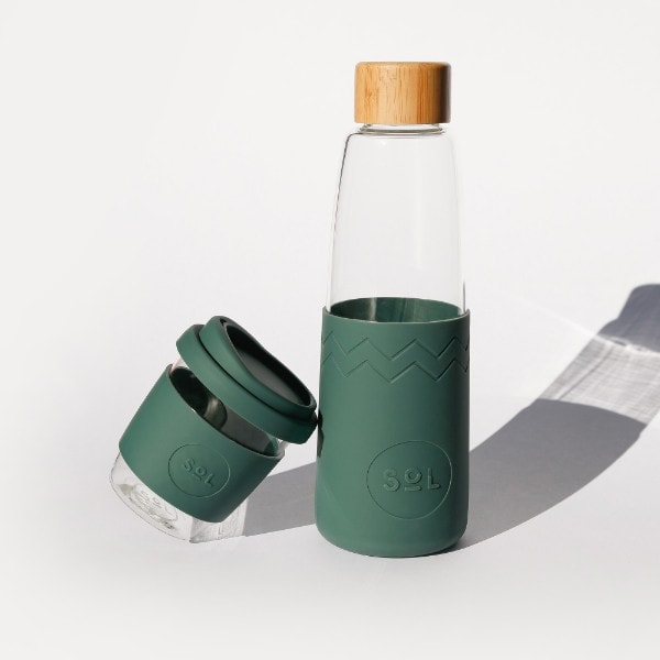 SoL Bottle & SoL Cup in Deep See Green