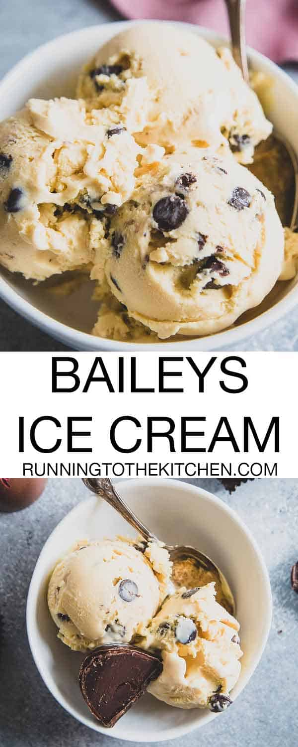 Make homemade Baileys ice cream with just 7 simple ingredients for a decadent boozy treat.