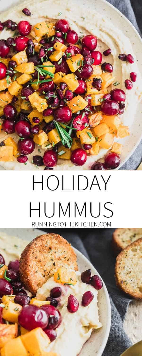 Need an easy but impressive holiday appetizer this season? Try this rosemary roasted butternut squash hummus that everyone will love!