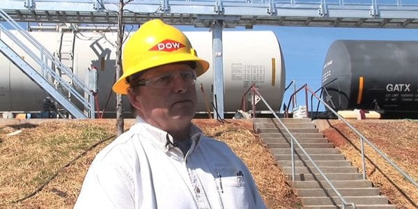 dow chemical chooses saferack gangway system