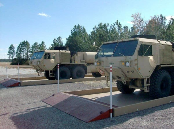 Military Fuel Truck Spill Containment