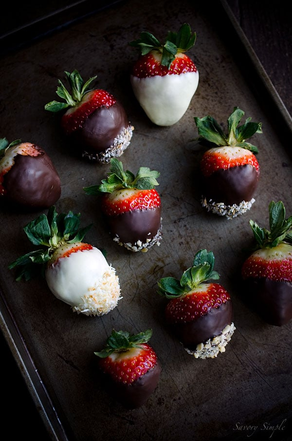 Chocolate Dipped Strawberries are the perfect Valentine's Day Dessert!